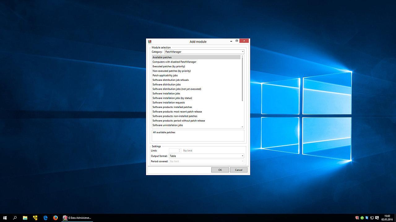 G Data Patch Management Security Manager Job Description Screenshot Reports