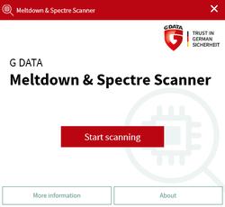 Meltdown an Spectre Scanner