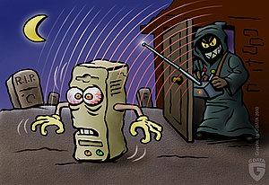 Die Zombies unter den PCs schließen sich zu Botnetzen zusammen.