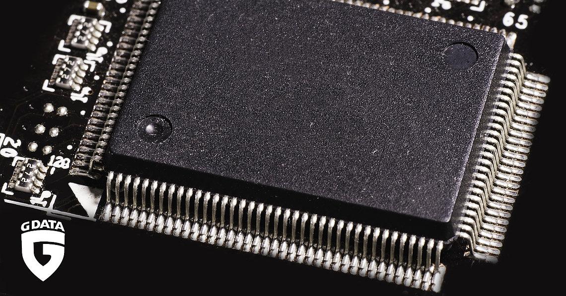 In einem Chip, noch viel kleiner als dieser hier, soll China Spionagewerkezuge versteckt haben