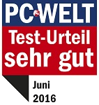 """PC-Welt Vergleichstest: """"Sehr gut"""" für G DATA Internet Security"""