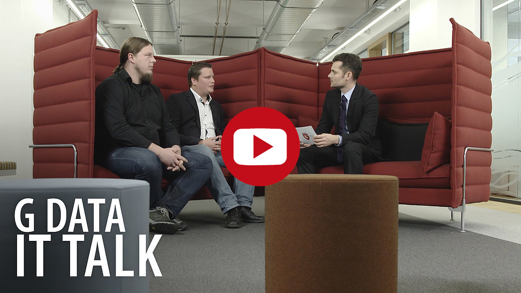 G DATA IT Talk (Video) mit Marc Ester und Thomas Siebert