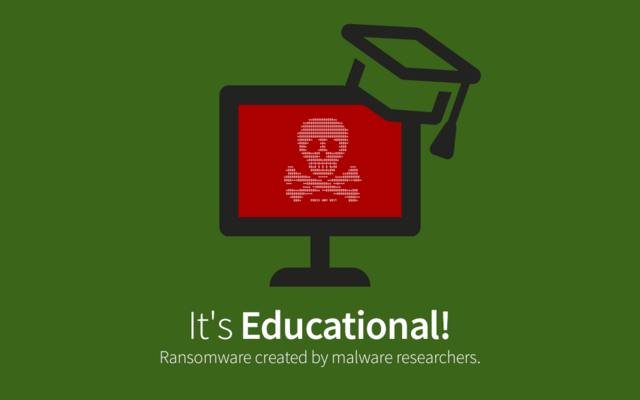 It's Educational - On the No 1 Argument for Open Source Ransomware