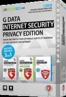 G DATA PRIVACY EDITION : suite de sécurité et VPN pour PC et Android