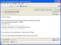 Cibercriminales usan el nombre de G Data para dar credibilidad a correos maliciosos que propagan el troyano bancario ZeuS