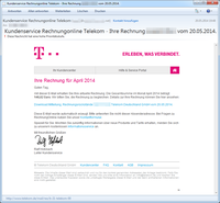G DATA identifica un nuevo troyano bancario que se difunde en correos electrónicos con facturas falsas