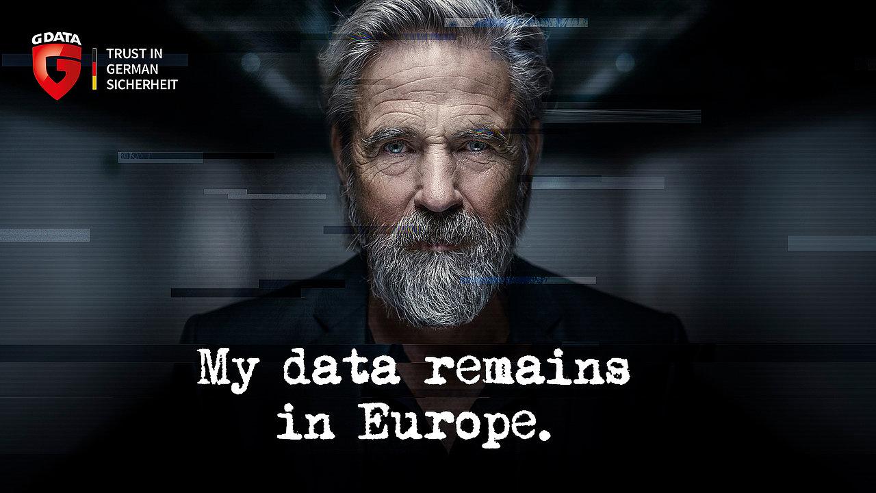 Avec G DATA, mes données restent en Europe
