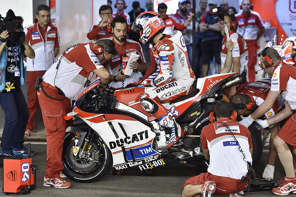 case study of ducati Ducati corse, the racing arm of ducati motorcycles, has entered the moto gp circuit with a completely new bike this bike was designed and tested using a great deal of information technology after a very successful initial season, the ducati moto gp team sees performance deteriorate significantly.