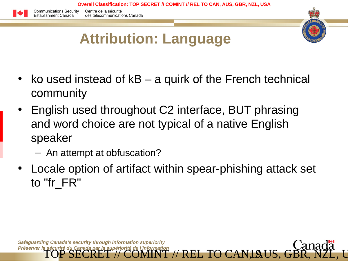 "babar espionage software finally found and put under the microscope the csec mentioned the locale option ""fr fr"" during the spear phishing attack in the evilbunny samples during the queries to the command and control"