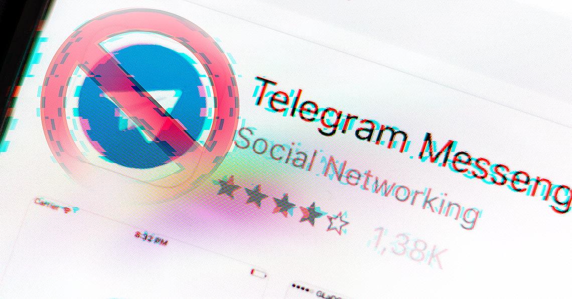 """Streit um Messenger """"Telegram"""": In Russland droht ein effektives Verbot für verschlüsselte Kommunikation. (Symbolbild)"""