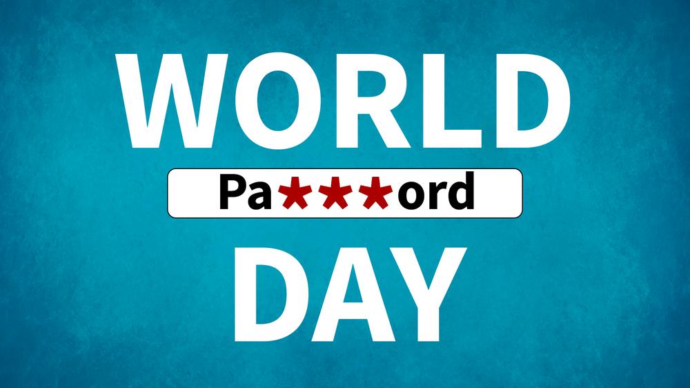 """Der """"World Password Day"""" soll Nutzer zu mehr Passwortsicherheit sensibilisieren"""