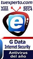 G DATA Internet Security, antivirus del año para tuexperto.com