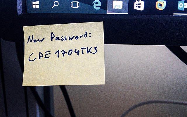 Sind komplexe Passwörter von gestern?