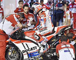 Mechanics at Ducati