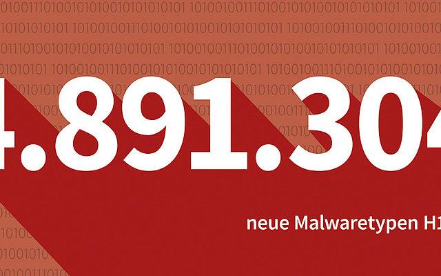 Malware-Zahlen des ersten Halbjahrs 2017