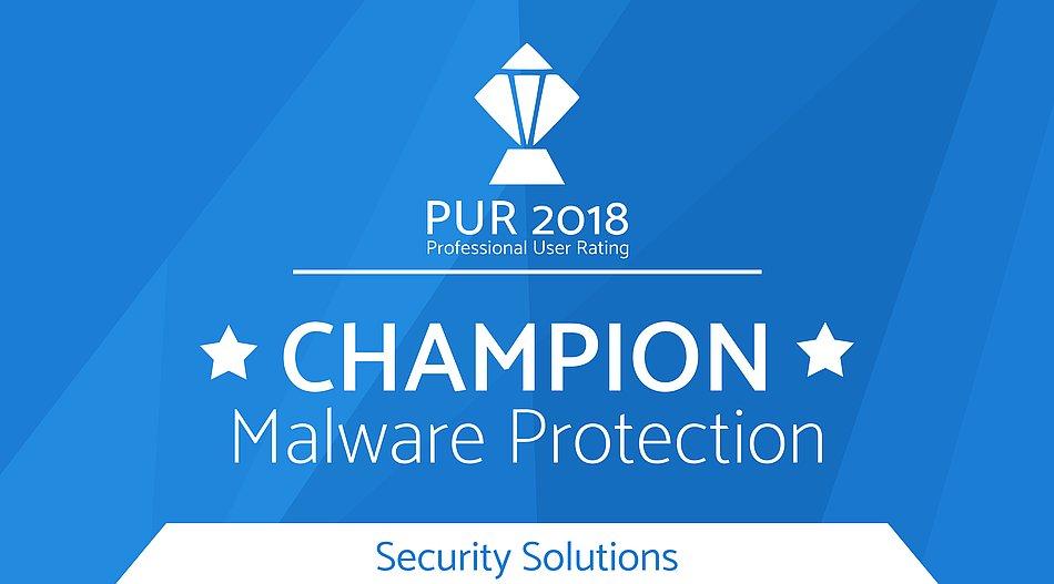 Champion Award - Malware Protection