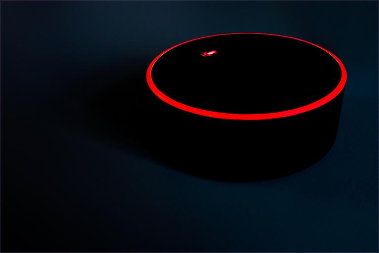 Gesperrtes Mikrofon am Amazon Echo Dot