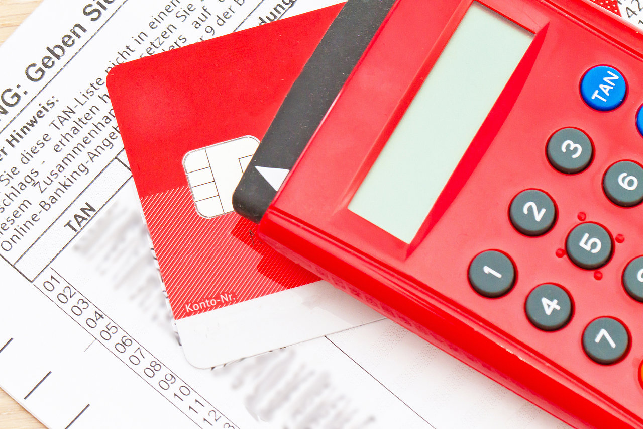 TAN generator and debit card