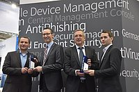 AV-TEST presents Innovation Award to G DATA and Microsoft for security software
