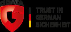 G DATA Logo | Trust in German Sicherheit