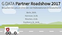 G DATA lädt zur Partner Roadshow 2017 ein