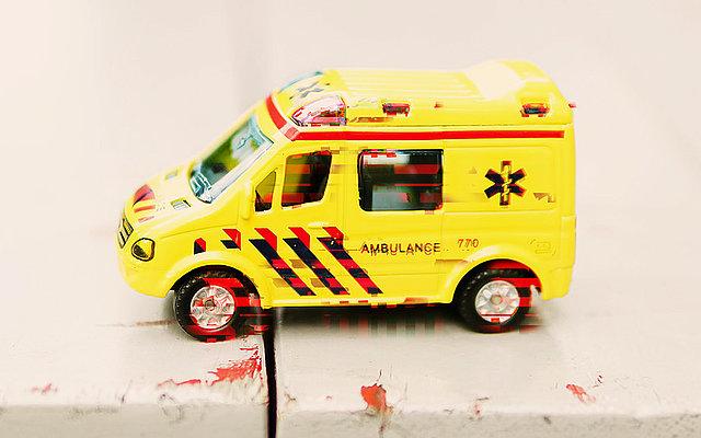 Sicherheitsleck im Rettungswagen