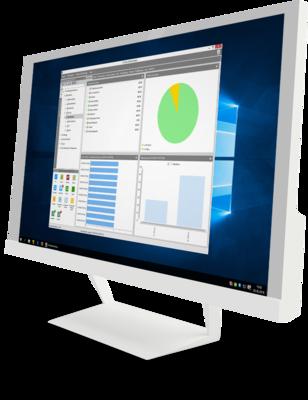 Benutzeroberfläche des G DATA Administrators