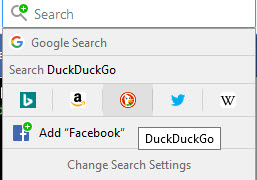 Customizable search engines in Mozilla Firefox