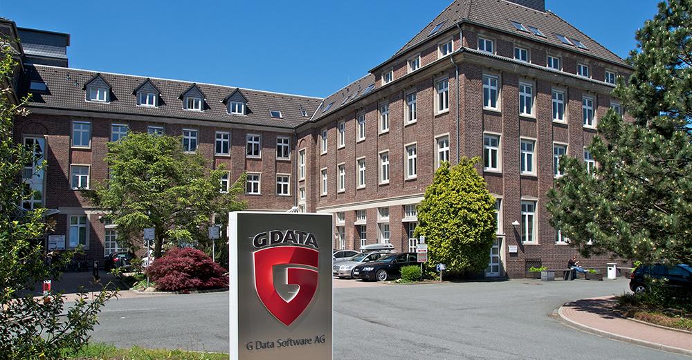 Der G DATA Campus in Bochum